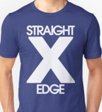 Straightedge (white) Unisex T-Shirt