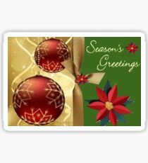 Season Greetings (14502  VIEWS) Sticker