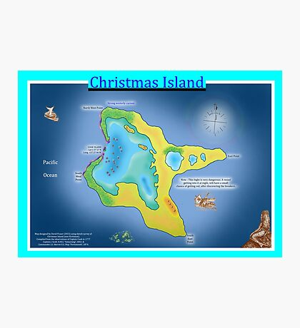 Christmas Island (Kiritimati) Photographic Print