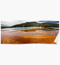 Yellowstone, Midway Geyser Basin Poster