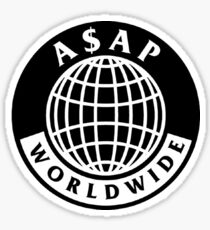 A$AP World-Wide Sticker
