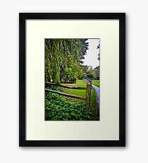 Countryside England Framed Print
