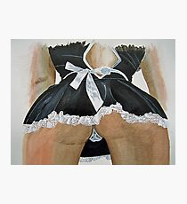French Maid Photographic Print