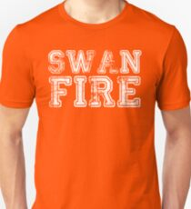 One Upon a Time - Swan Fire Unisex T-Shirt