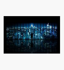 Window to Gotham City Photographic Print