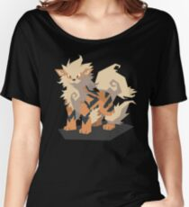 Cutout Arcanine Women's Relaxed Fit T-Shirt