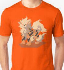 Cutout Arcanine Unisex T-Shirt