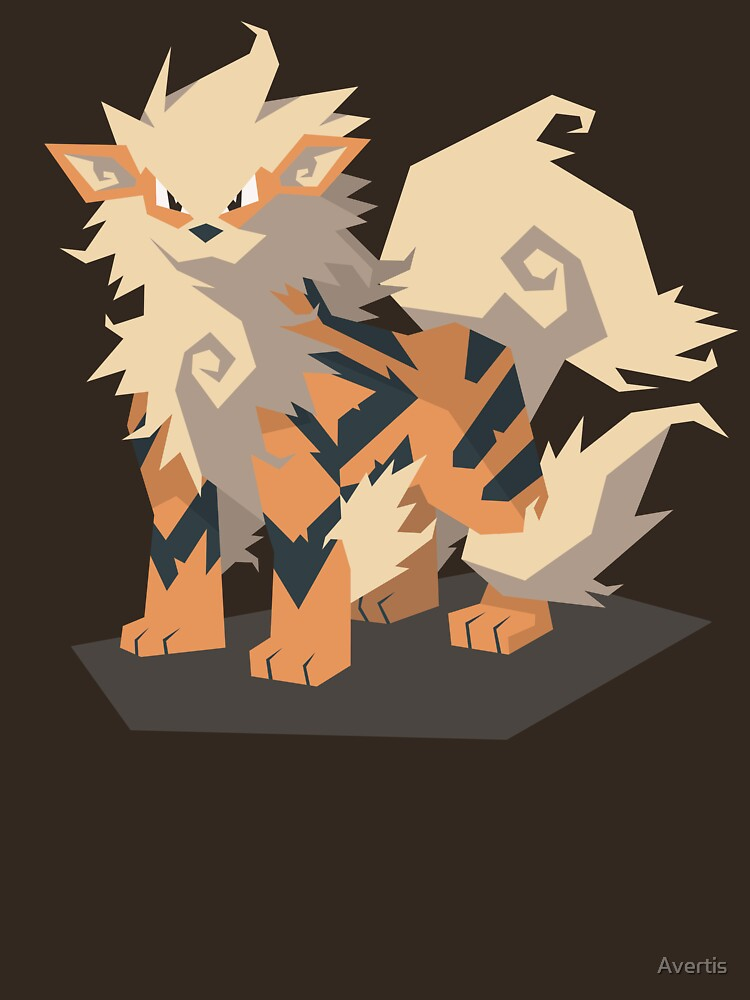 Cutout Arcanine by Avertis