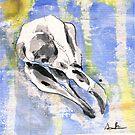 Penguin Skull by AaronBir