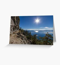 The Perfect Journey - Flume Trail Greeting Card