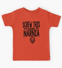 Narnia Quotes Kids Tee