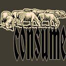 consumer shirt. by bristlybits