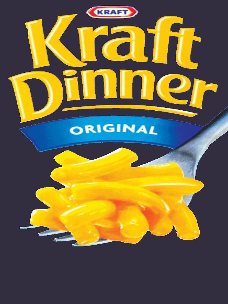 Quot Kraft Dinner Mac N Cheese T Shirt Quot T Shirt By Golemware