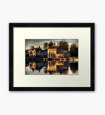 Carew Tidal Mill Framed Print
