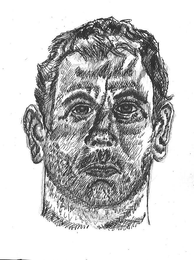 Self Portriat  by Stephen  J. Vattimo