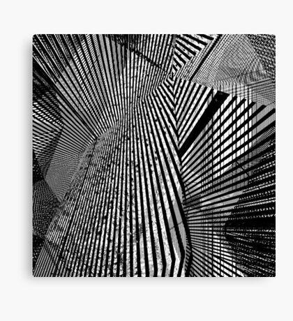 fractalistic fractions Canvas Print