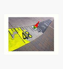 Measuring Tape Toronto 2013 Art Print
