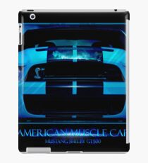 Mustang Shelby GT500 2013 iPad Case/Skin
