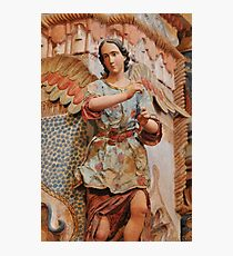 Angel at San Xavier Mission Photographic Print
