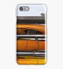Seagull and Kayaks at AT&T Park San Francisco iPhone Case/Skin