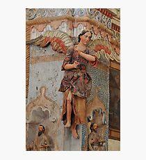 Angel at Mission San Xavier del Bac Photographic Print