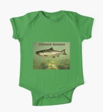 Chinook Salmon One Piece - Short Sleeve