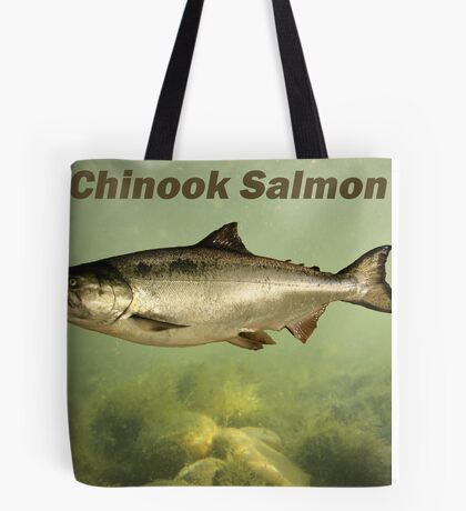 Chinook Salmon Tote Bag