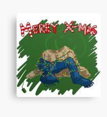 221B Christmas Canvas Print