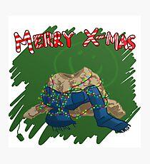221B Christmas Photographic Print