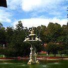Dolmabahçe fountain by Maria1606