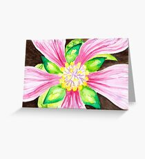 Flower Close-Up Greeting Card