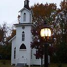 Light and Church by WildestArt