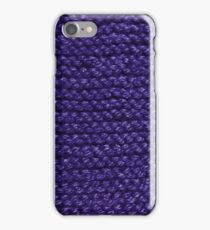 Keep Warm in Blue iPhone Case/Skin