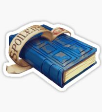 Spoilers, River Song's Tardis Journal Sticker