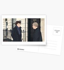 The Address is 221B Baker Street Postcards