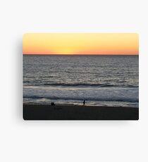 Sundown Redondo Beach Canvas Print