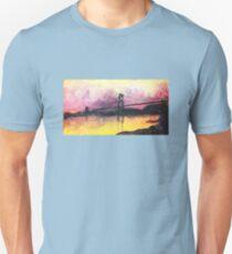 Macdonald Bridge Impressionism T-Shirt
