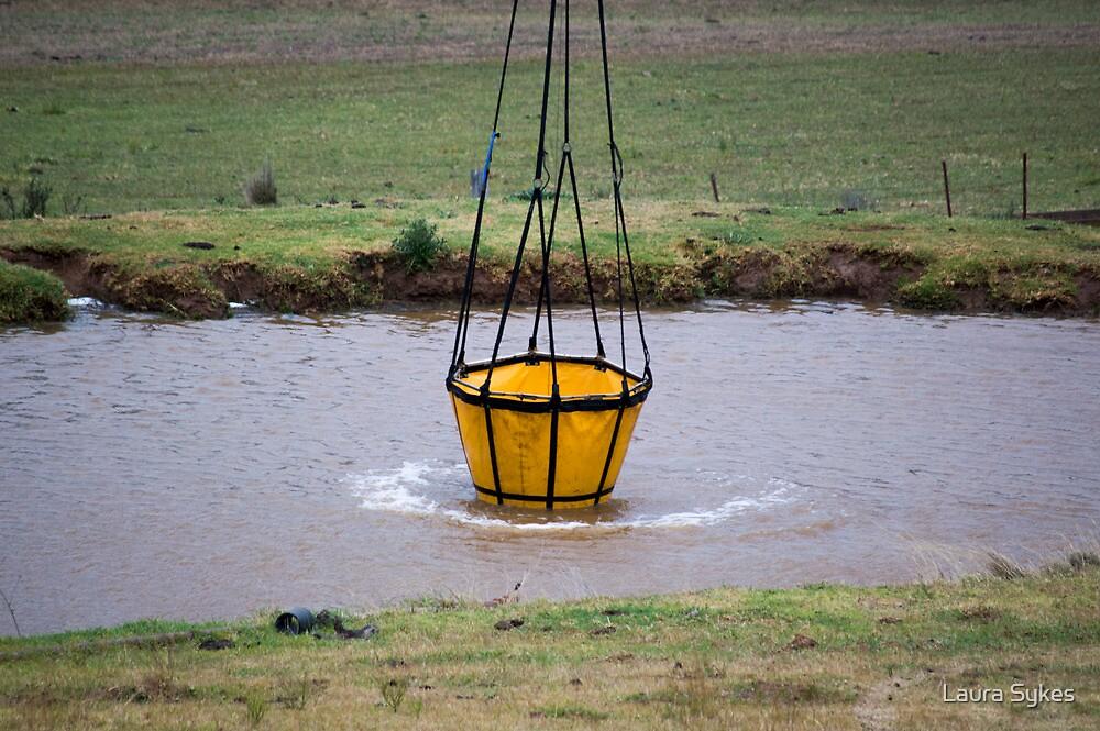Chopper bucket II by Laura Sykes