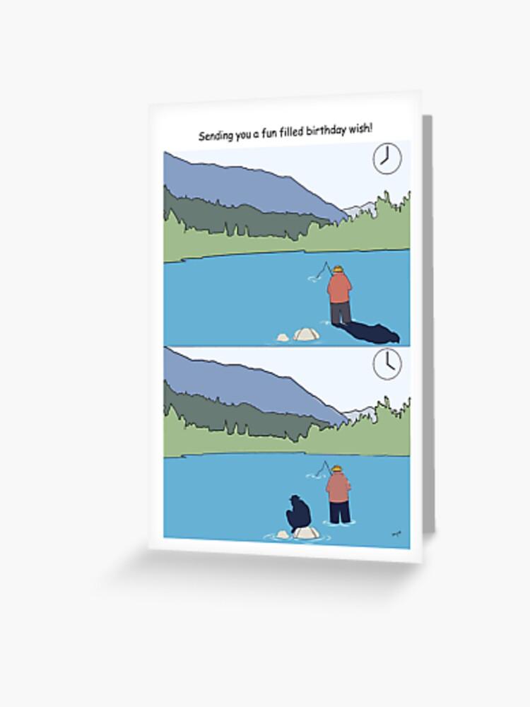 Happy Birthday Fishing Cards