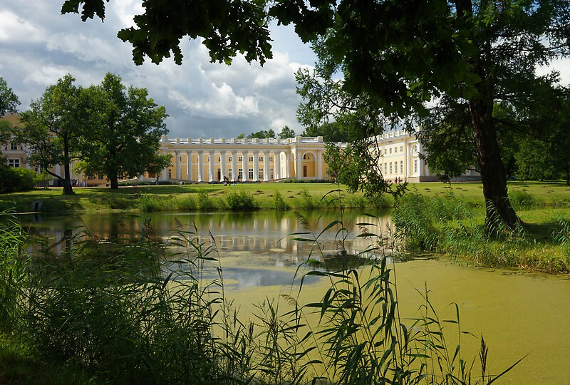"""Alexander Palace in Tsarskoe Selo, near StPetersburg"" by ..."