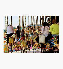 Fairground Ride Photographic Print