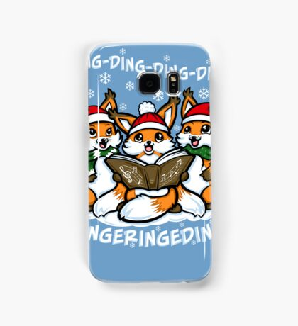 """""""What does the Fox Sing""""  (iPhone case2) Samsung Galaxy Case/Skin"""