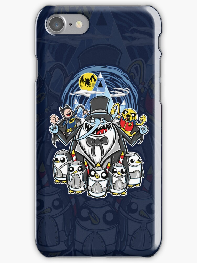 Penguin Time    (iphone case1) by Ameda Nowlin
