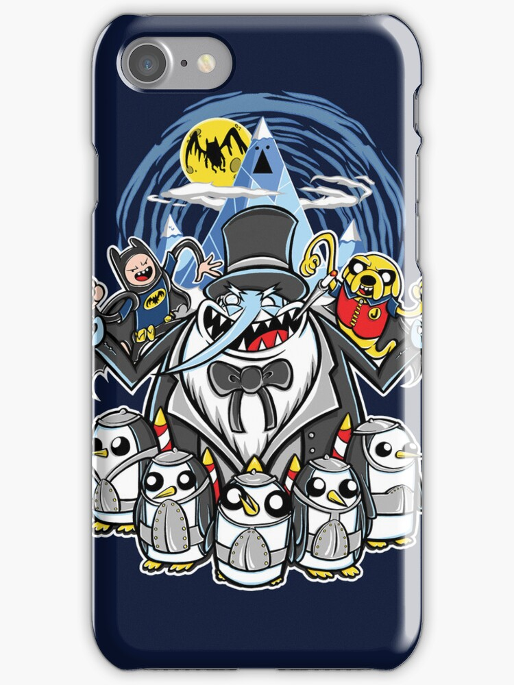 Penguin Time (iphone case2) by Ameda Nowlin