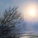 Misty Sunset by Gilberte