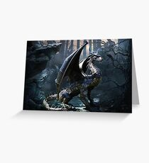 Dragons Of The Apocalypse Greeting Card
