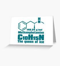 Methamphetamine Greeting Card