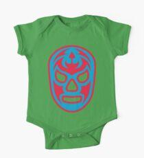 Luchador - Santo Misterio Baby Body Kurzarm
