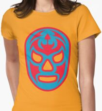 Luchador - Santo Misterio Women's Fitted T-Shirt