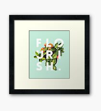 Flourish #redbubble #home #designer #tech #lifestyle #fashion #style Framed Print